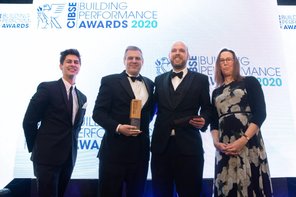 Hysopt wins CIBSE Building Performance Award 2020